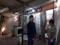 Soneca visita Loteamento Estrela Oriente em busca pavimentação e saneamento básico