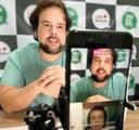 Thiaguinho faz indicação para que conteúdo educativo da Rede Municipal seja transmitido na TV Aperipê