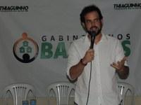 Thiaguinho realiza primeira edição do projeto Gabinete nos Bairros