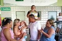 Vereador Américo de Deus participa de ação beneficente na Associação Atlética Banese
