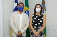 Vereador Byron pede apoio à vice-prefeita Katarina para priorizar a vacinação dos profissionais da segurança