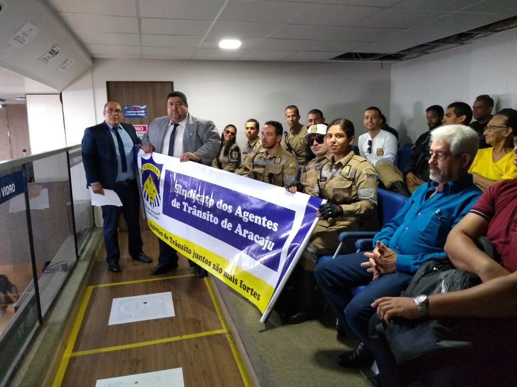 Vereador Cabo Didi apoia agentes de trânsito