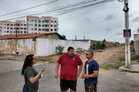 Vereador Cabo Didi faz ronda no Conjunto Horto do Carvalho