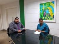 Vereador Cabo Didi fez visita ao vice presidente da Emurb