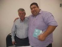 """Vereador Cabo Didi prestigia lançamento do livro """"Memórias de Aracaju Bodegas"""""""