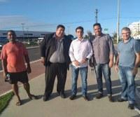 Vereador Cabo Didi recebe a visita do superintendente da SMTT no Santa Tereza
