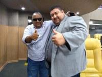 Vereador Cabo Didi recebe visita do Assessor de Comunicação da DESO