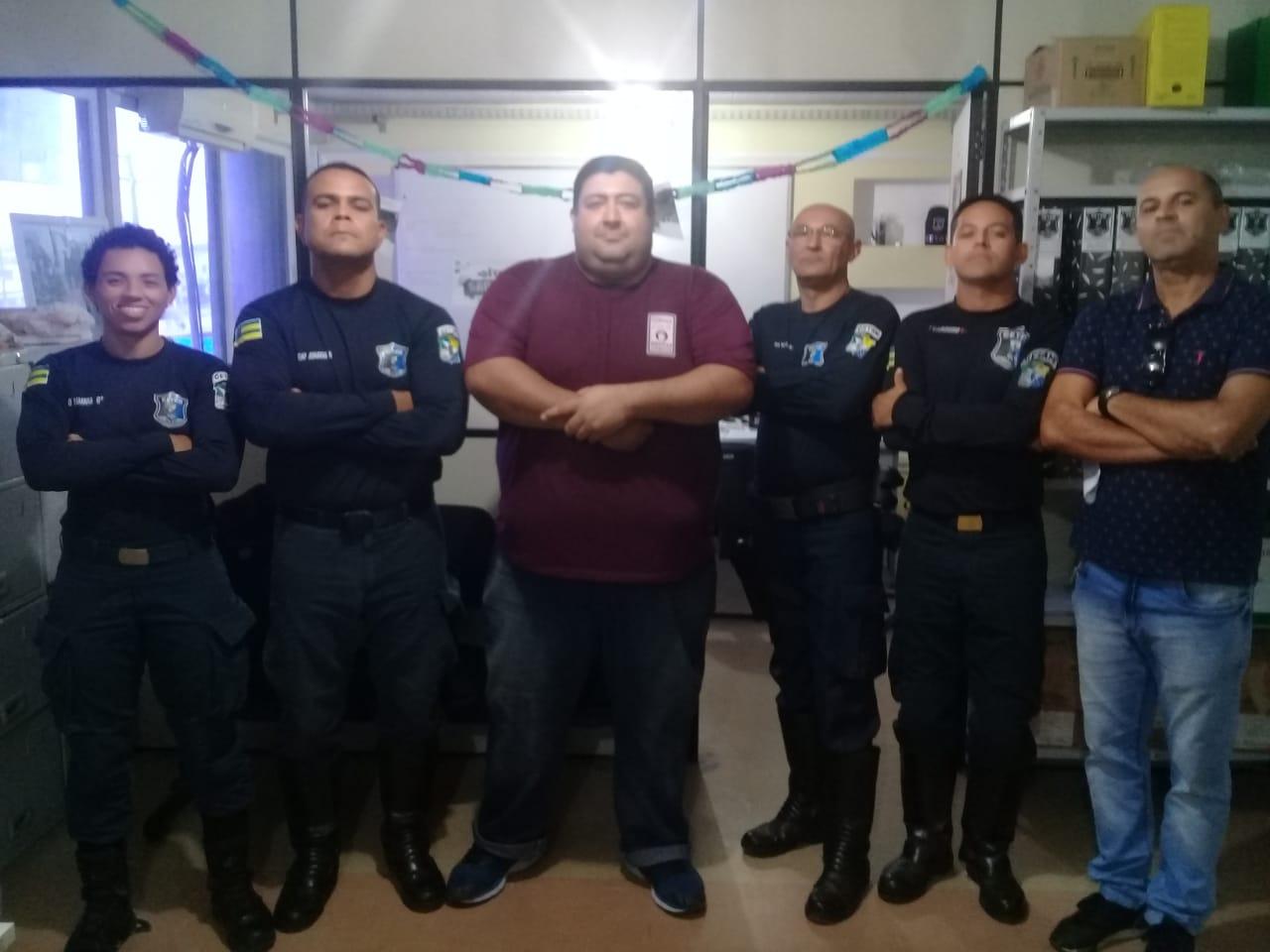 Vereador Cabo Didi visita Getam