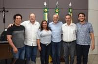Camilo debate com o prefeito e Sindisan sobre renovação de concessão entre Prefeitura e Deso