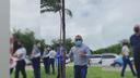 Vereador Cícero comemora escolha do bairro Santa Maria para início de projeto de plantação de mudas em Aracaju