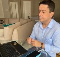 Fabiano Oliveira participa de reunião para discutir reabertura de bares e restaurantes aos finais de semana