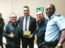 Vereador Zezinho é homenageado pelo Batalhão de Policiamento de Guardas