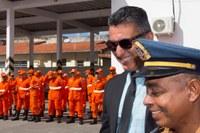 Vereador Zezinho participa de solenidade alusiva ao dia do Bombeiro