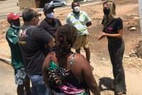 Vereadora Sheyla Galba visita bairros e constata problemas locais