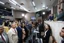 Vereadores acompanham mensagem anual do prefeito na 1ª Sessão Ordinária de 2020