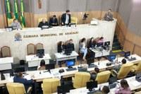 Vereadores aprovam proposituras durante Pauta do Dia