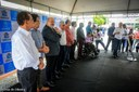 Vereadores de Aracaju participam de entrega de nova frota de ônibus coletivo