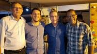 Vereadores marcam presença na abertura do Forró Caju 2019