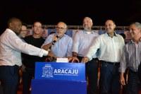 Vereadores participam da inauguração do Natal Iluminado no Parque Governador Augusto Franco