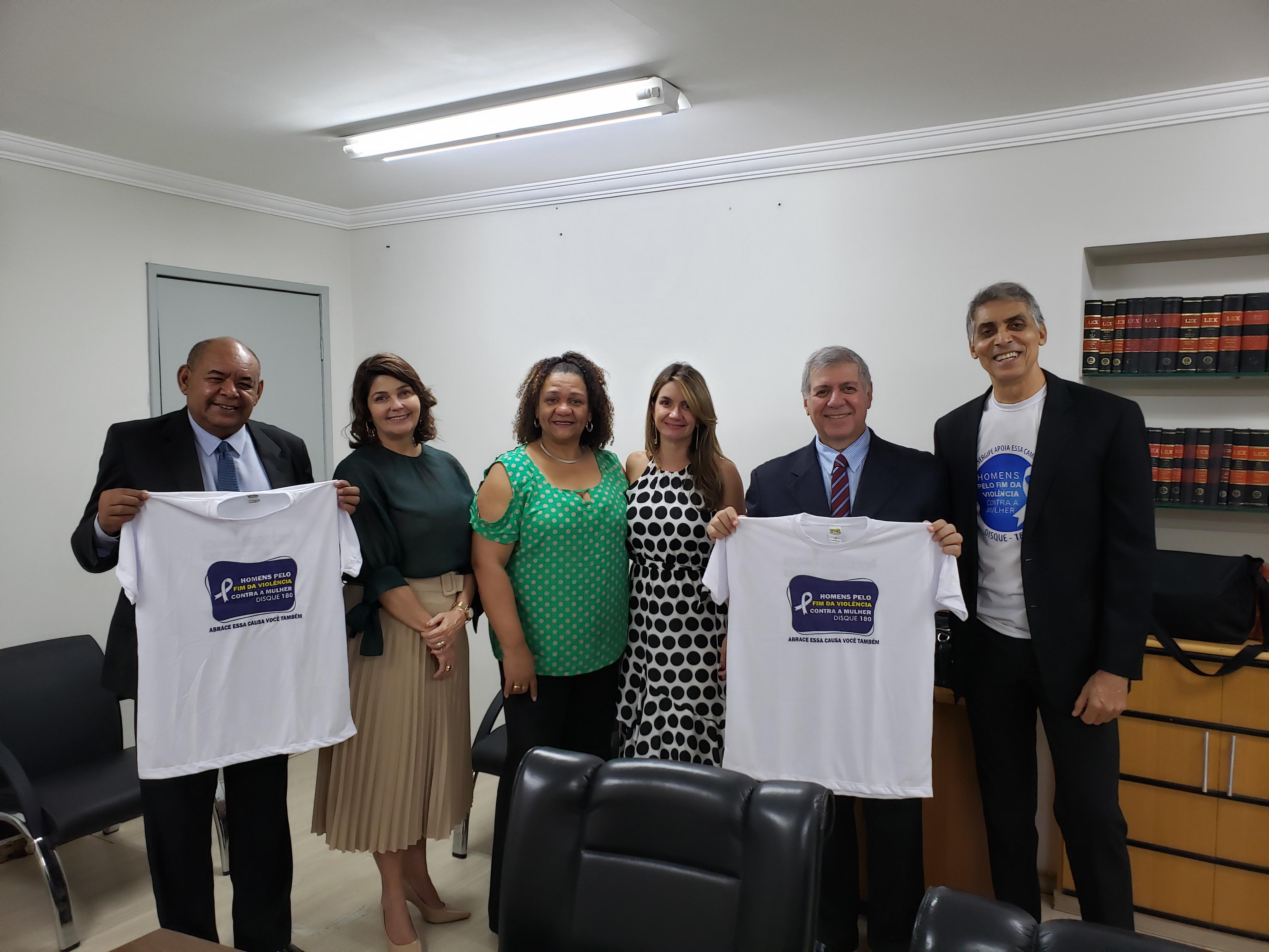 Violência contra mulher: projeto de conscientização é lançado na CMA com apoio de Seu Marcos