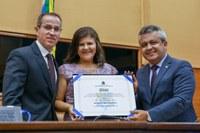 Xanda Brito é a mais nova Cidadã Aracajuana