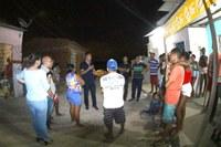 Zezinho participa de reunião com moradores da Travessa B 2 no Bugio